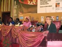 Emma Bonino alla cerimonia di apertura della Conferenza Sub-Regionale contro le Mutilazioni Genitali Femminili.