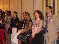 Antonella Dentamaro e altri, alla presentazione della Conferenza Sub-Regionale contro le Mutilazioni Genitali Femminili.