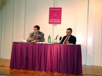 """Daniele Capezzone presenta il suo libro """"Uno shock radicale per il 21° secolo"""" presso la Casa Italiana Zerilli Marimò, della New York University. Il m"""