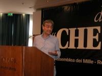 """Maurizio Turco alla tribuna dell'assemblea postreferendaria: """"Che fare?""""."""