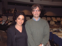 Antonella Casu e Maurizio Turco