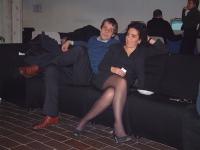 Olivier Dupuis e Antonella Casu