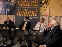 Conferenza stampa con Enrico Boemi, Daniele Capezzone, Bobo Craxi, Marco Pannella, per rilanciare la richiesta alle Camere di affrontare -prima della