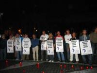 Manifestazione a piazza San Pietro a favore della libertà sessuale e di coscienza, in concomitanza con l'apertura della giornata mondiale della gioven