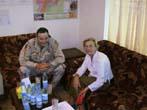 Emma Bonino  (alla guida di una commissione dell'Unione Europea per l'osservazione sulle elezioni in Afghanistan) Emma Bonino con il Generale Eikenber