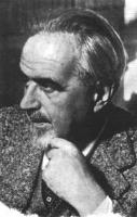 ritratto di Ernesto Rossi (BN) piccola, di profilo, si carezza la barba