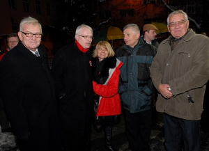 Marina Sikora, membro del Consiglio Generale del Partito Radicale con Ivo Josipovic, il nuovo Presidente della Croazia