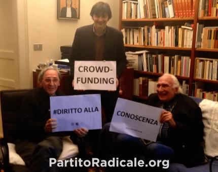 Marco Pannella e Franco Battiato, appello per il Diritto alla Conoscenza