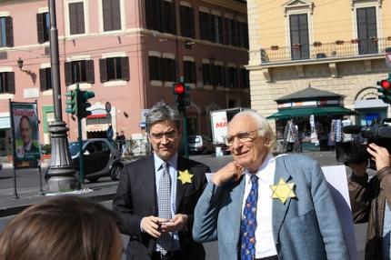 Maurizio turco insieme a Marco Pannella in una foto di archivio