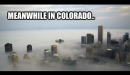 Colorado six months after the legalization of marijuana