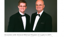 Snowden with General Michael Hayden