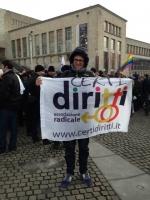 l Partito Radicale e Certi Diritti alla manifestazione a Bruxelles per la democrazia, lo stato di diritto e i diritti fondamenta